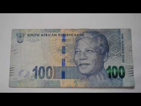 100 South African Rand Banknote - One Hundred South African Rand bill