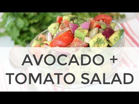 Easy Avocado + Tomato Salad | Clean & Delicious