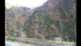 Landscapes in Shimla and Kulu manali