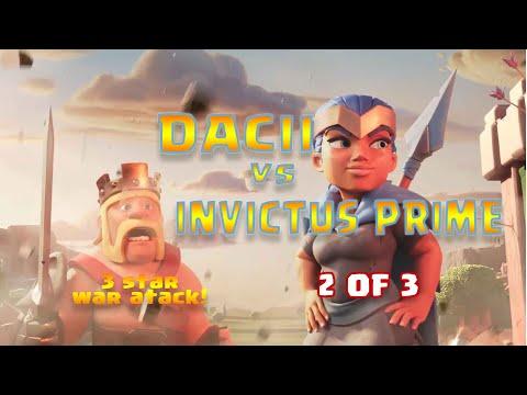 Dacii Vs Invictus Prime 2 Din 3 / War Recap / Th 13 / Clash Of Clans