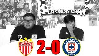 ¡ADIÓS AL INVICTO! REACCIÓN NECAXA VS CRUZ AZUL 2-0