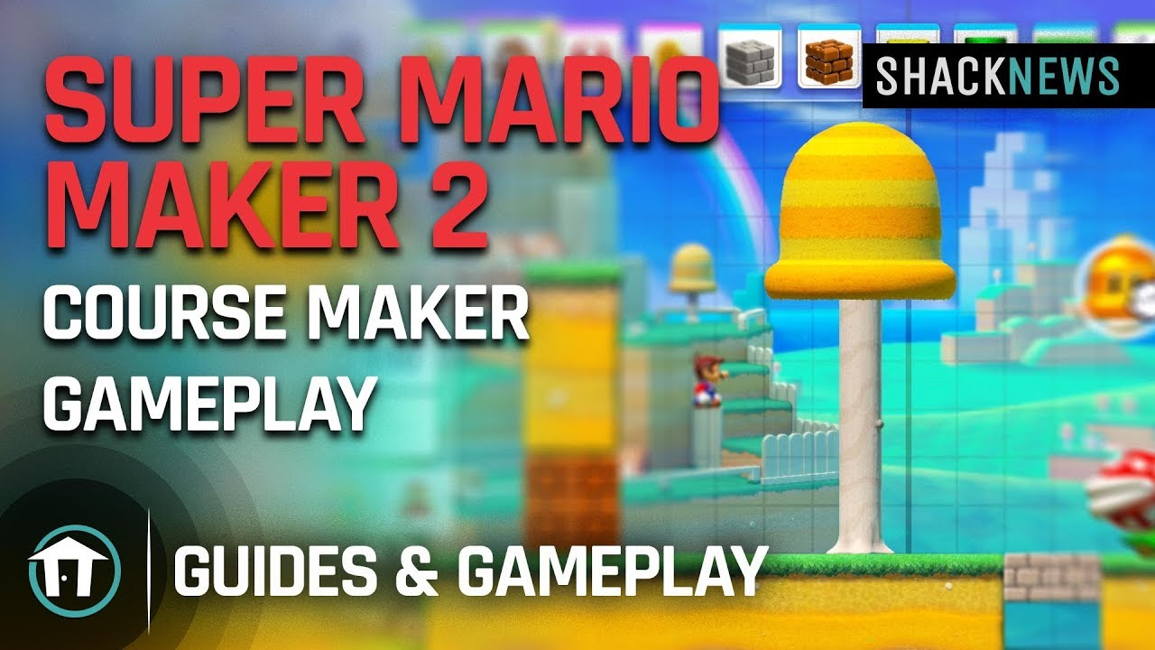 Will Super Mario Maker 2 release on Android, iPhone, or iPad