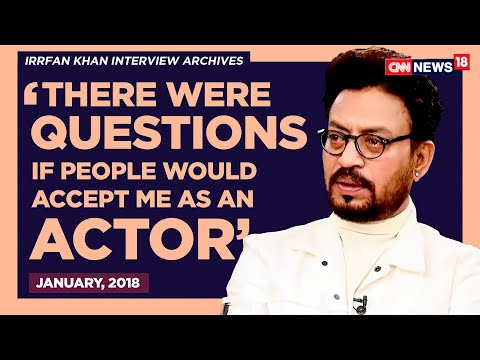 Irrfan Khan from 'Critic' to 'Popular' | Rajeev Masand Interview | CNN-News18