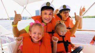 Майя и история о морском путешествии с семьёй