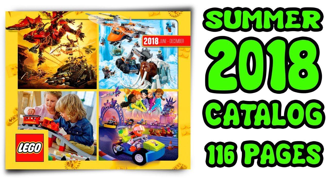 LEGO Summer Catalog 2018 all lego sets - Sets Images - ALL LEGO SUMMER SETS  2018 NEW! - 116 pages