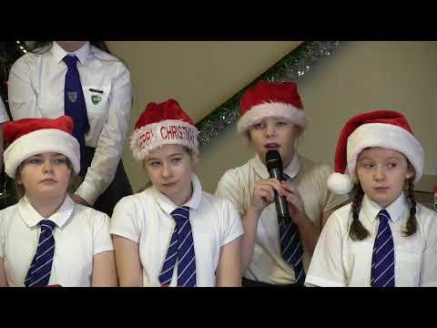 St Marys Primary School, Polbeth, sing Christmas carols