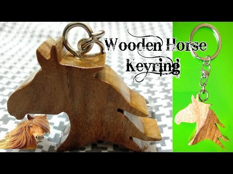 Making Wooden Horse Keyring by Scroll Saw | Wooden Handicrafts Item by Scroll Saw