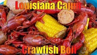 How To Make A  Killer  Cajun Crawfish Boil - 2015 HD