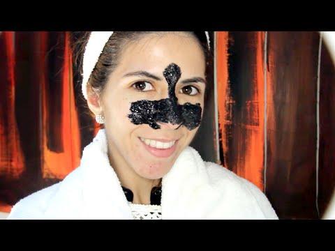 PUNTOS NEGROS: MASCARILLA DE CARBON (negra) ¿FUNCIONA? Bye black heads por Lau ツ✿