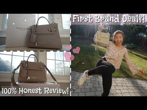 TEDDY BLAKE New York - (Handbag Review & Outfit)