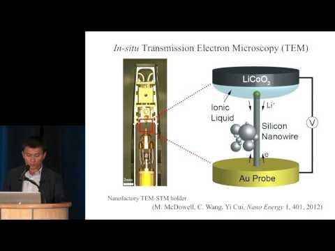 Yi Cui: Energy Storage   GCEP Symposium – November 3, 2016