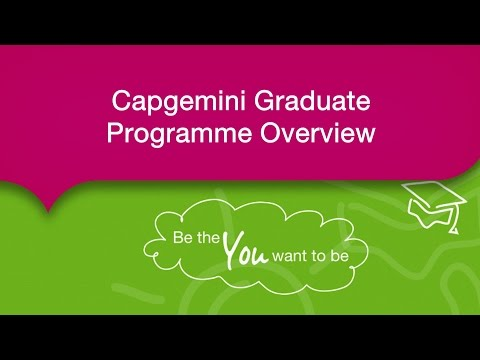 Capgemini Graduate Programme Overview