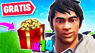14 NEW GIFTS You CAN GET FOR FREE...!! Fortnite