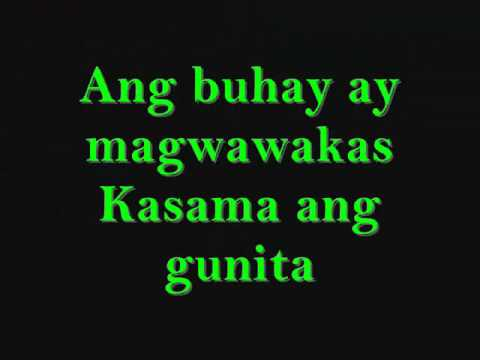 magpakailanman by rocksteddy with lyrics