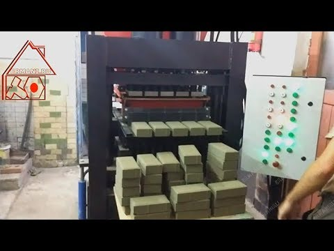 Пресс для брусчатки. Производство на Hiper-100AT