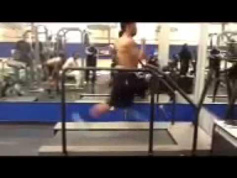 Robert Gill Arizona Cardinals 25MPH treadmill @BUBBYGILL10