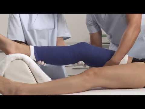 Plaster of Paris Knee Splint Application