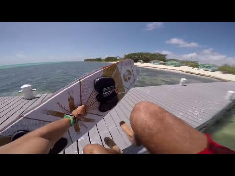 "Express yourself!! Kiteboarding is  ""dangerously"" fun! (Cayman Islands)"