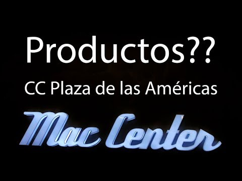 Algunos de los productos de la tienda Mac Center del C.C. Plaza de las Américas!