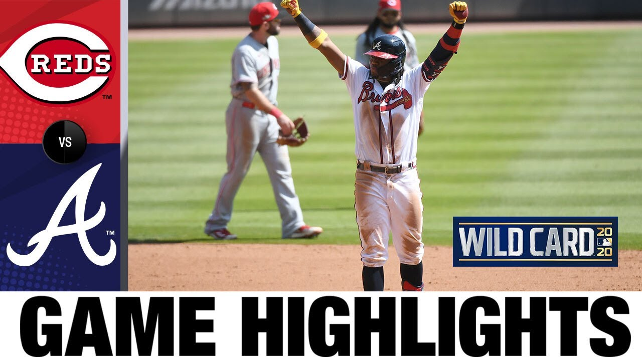 Ian Anderson leads shutout sweep, Braves head to NLDS | Reds-Braves Game 2 Highlights 10/1/20