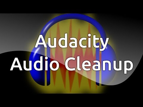 Audacity Audio Cleanup