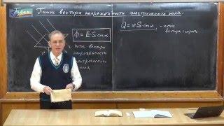 Урок 222. Поток вектора напряженности электрического поля