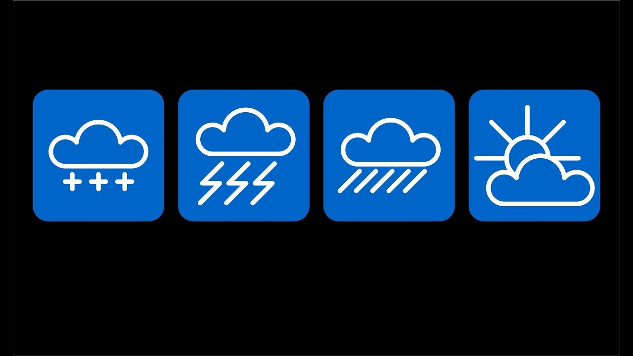 условные знаки погоды окружающий мир 3 класс