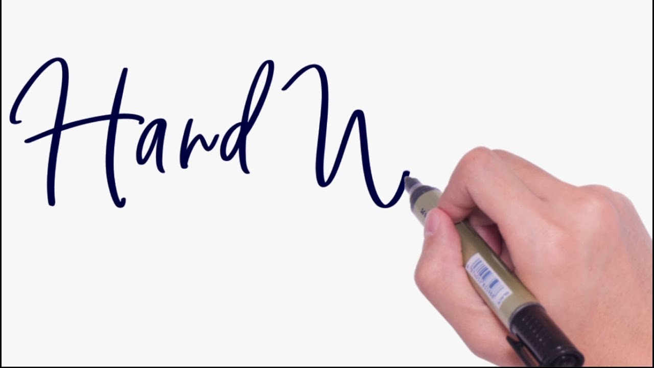 after effects handwriting effect animation