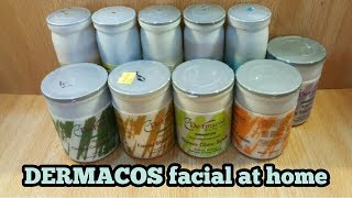 Dermacos whitening fecial //Salon Fecial at home//full review in urdu/hindi