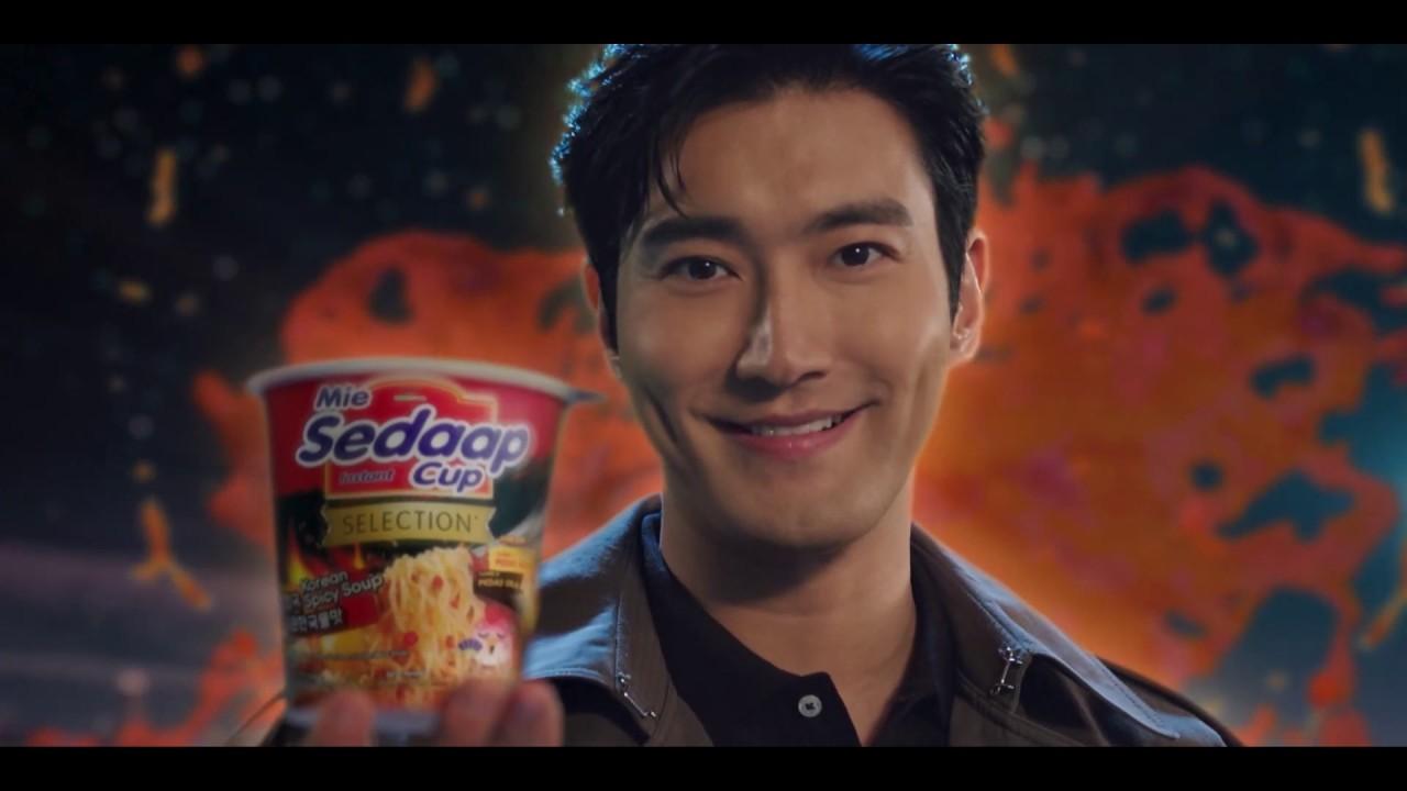 Mie Sedaap Cup Korean Spicy Soup X Siwon, #KuahPedasnyaJuara!