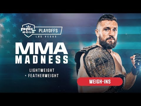 PFL8 Playoffs   2019 - Weigh-ins