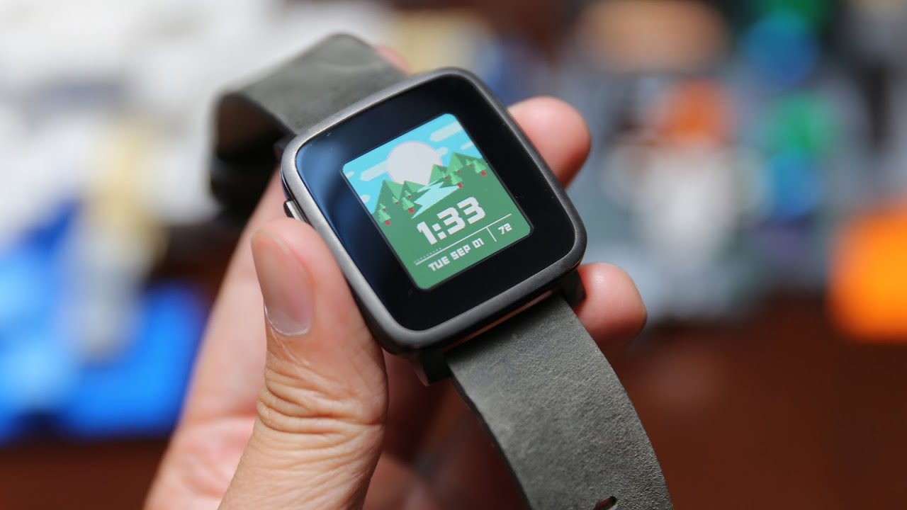 Show and Tell: Pebble Time Steel Smartwatch