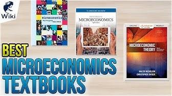 10 Best Microeconomics Textbooks 2018