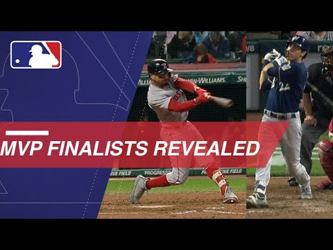 MLB announces the 2018 Most Valuable Player finalists