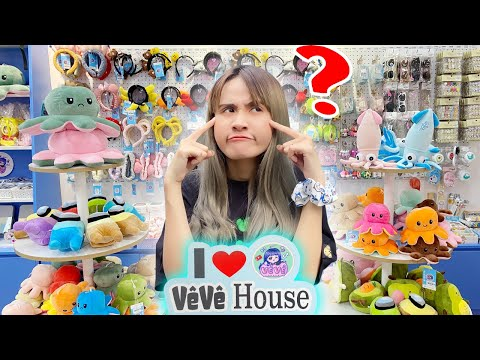 Khám Phá Xem Shop Vê Vê House Bán Những Gì - Vê Vê Channel