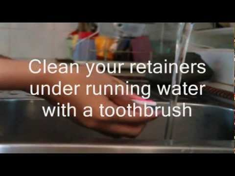 How to Clean Your Retainers