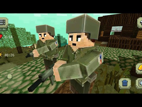 Army Craft: World War 2 Hero Gameplay Trailer (Android)