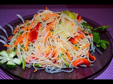 Как приготовить фунчозу в домашних условиях рецепт с овощами