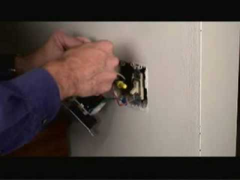 Leviton 3 Way Rotary Dimmer Wiring Diagram Lewis Dot For Ch3cl Installing A Switch Video Youtube