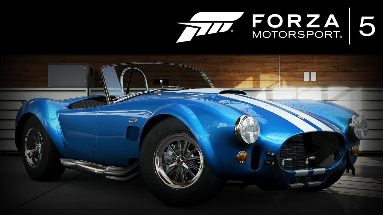 forza 5 shelby cobra 427 s c 1965 forzavista 1 lap youtube. Black Bedroom Furniture Sets. Home Design Ideas