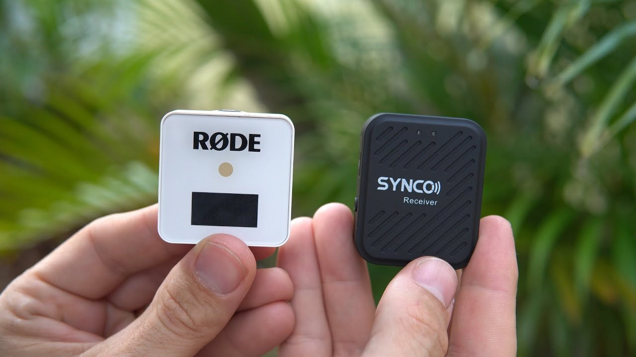 Download Synco Wireless Microphone or the Rode Wireless Go?