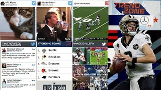 The Top Highlights, Gifs, Reactions, & Celebrations to Week 5! | NFL TRENDZONE