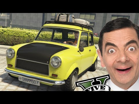GTA V Online - O INCRÍVEL Novo Carro do Mr. Bean