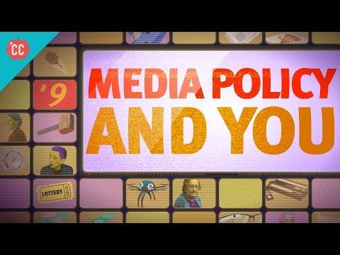 Media Policy & You: Crash Course Media Literacy #9