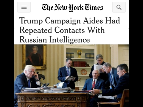 NYTimes Trump Camp Russian Story FakeNews