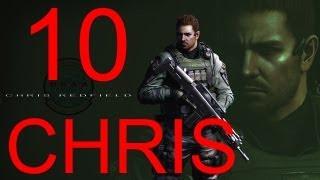 Resident Evil 6 walkthrough - part 10 HD Chris walkthrough gameplay RE6 Full Game walkthrough