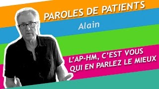 Paroles de patients : Alain, opéré d'une tumeur rénale à l'aide du robot chirurgical