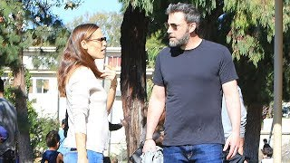 Ben Affleck And Jennifer Garner Disagree Over Ben's Girlfriend Coming To Games