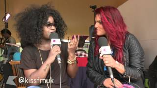 Misha B catches up with Kiss at Wireless