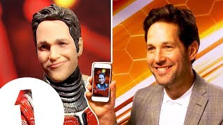 """It did make me laugh!"" Ant-Man's Paul Rudd on his RIDICULOUS action figure."